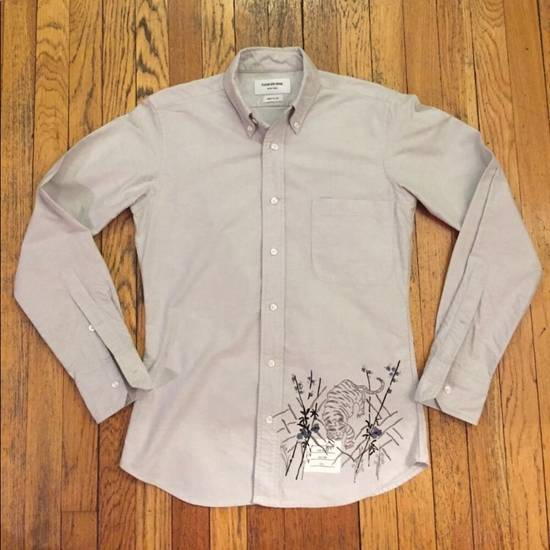 Thom Browne Embroidered Tiger Shirt Size US S / EU 44-46 / 1