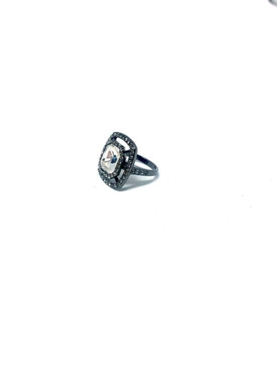 Givenchy Gunmetal ring size 8 Size ONE SIZE - 2