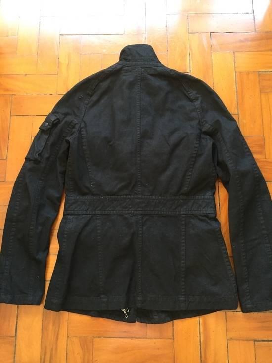 Julius AW08 Gas mask cargo pocket denim jacket Size US S / EU 44-46 / 1 - 2