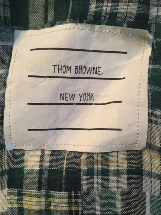 Thom Browne Plaid Madras Shirt Size 2 Size US M / EU 48-50 / 2 - 3