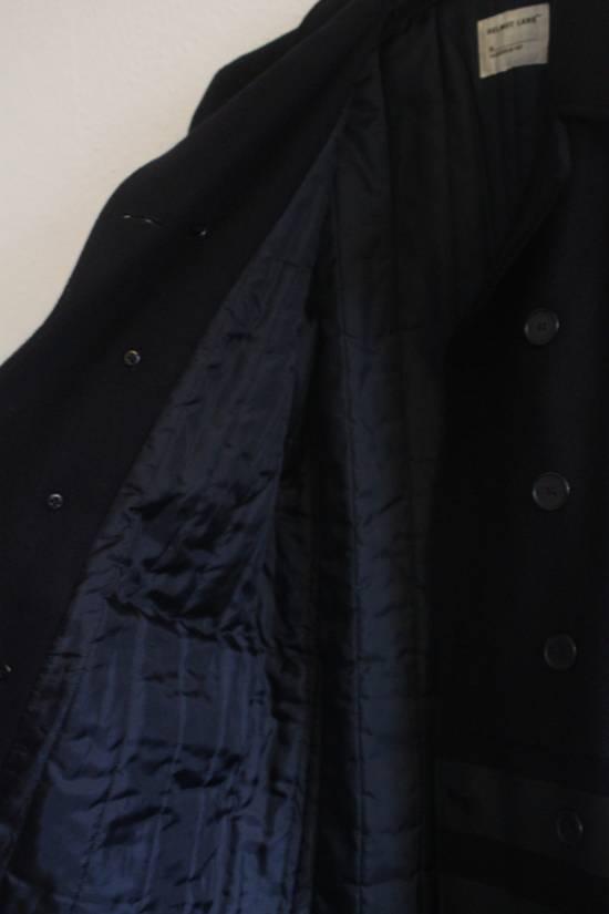 Helmut  Lang AW97 OG Archival Resin Stripe Military Coat Size US M / EU 48-50 / 2 - 9