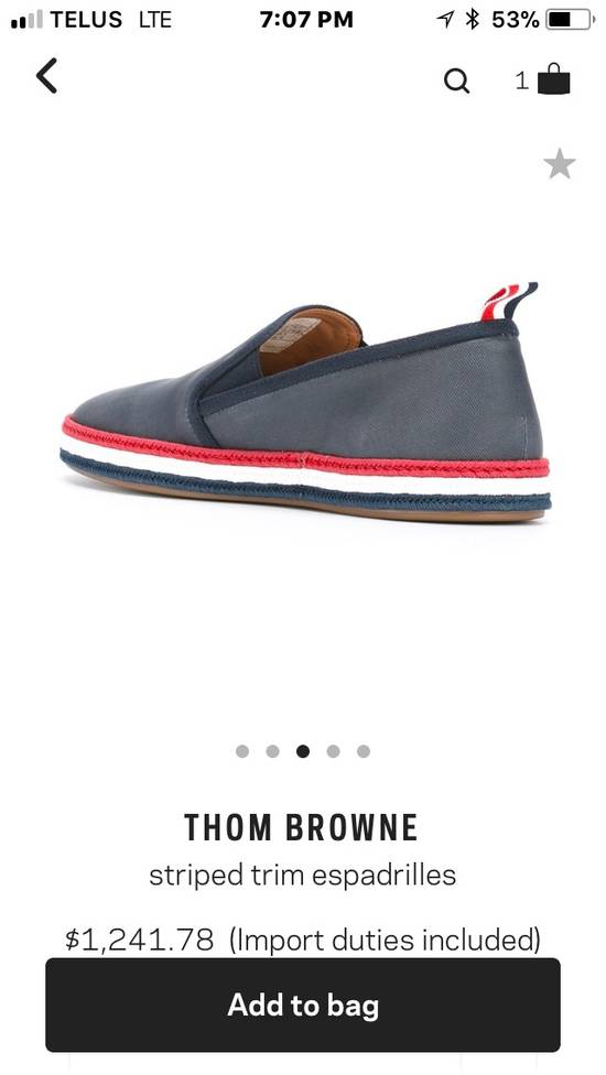 Thom Browne *Final Drop* New In Box Espadrilles Size US 10 / EU 43 - 3