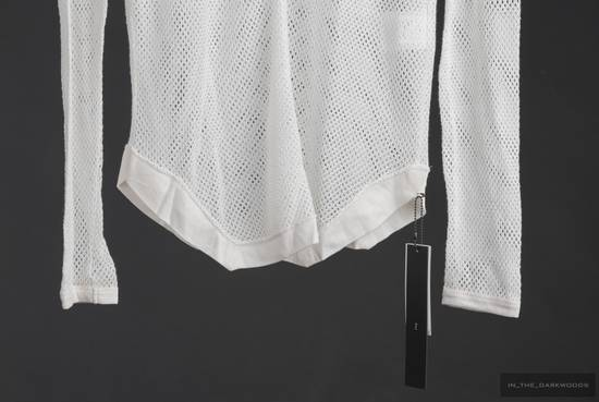 Julius mesh knit cotton hooded top 2015SS Size US S / EU 44-46 / 1 - 2