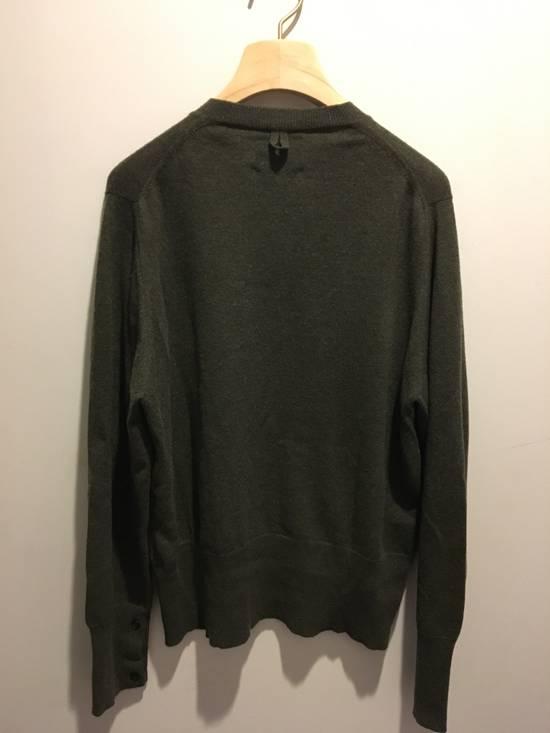 Thom Browne Black Fleece/Thom Browne Green Vneck Size US M / EU 48-50 / 2 - 4