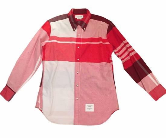 Thom Browne Red Plaid Oxford - New Size US XS / EU 42 / 0