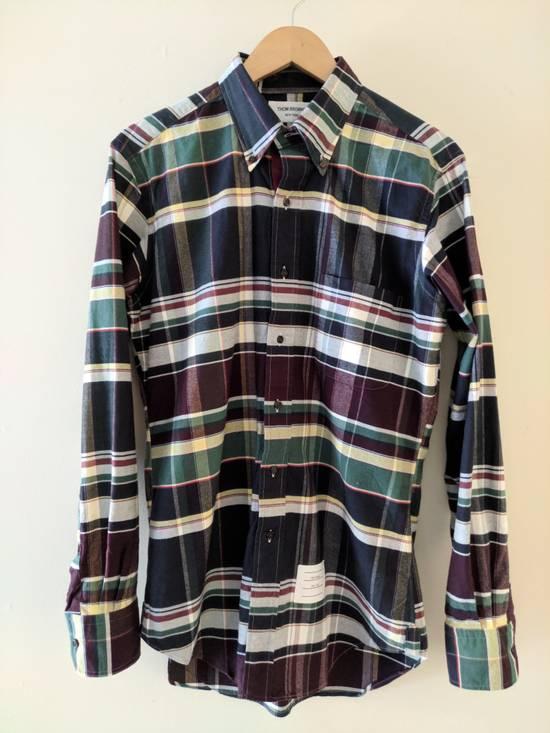 Thom Browne Madras Shirt, 2/M Size US M / EU 48-50 / 2