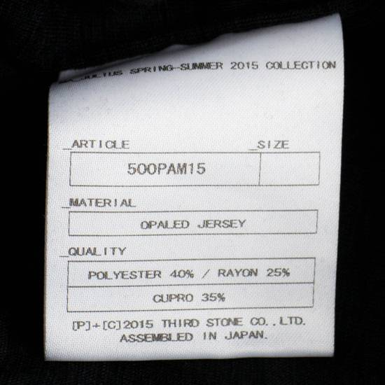 Julius MA_JULIUS Men's Black Polyester Blend Casual Shorts Size 1/XS Size US 30 / EU 46 - 3