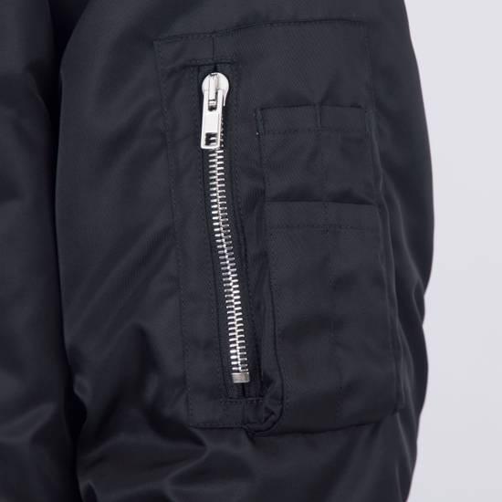 Givenchy 2550$ New Black Padded Nylon Illuminati Patch Bomber Jacket Size US L / EU 52-54 / 3 - 8