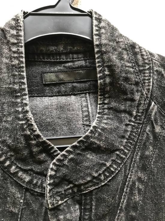 Julius AW12 faded denim jacket with zip. Size US M / EU 48-50 / 2 - 3