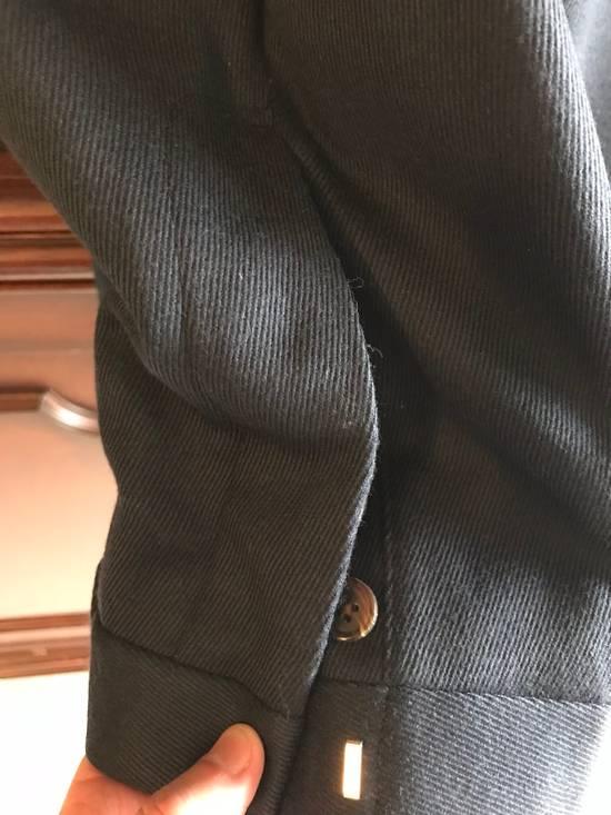 Thom Browne Black Fleece Navy Wool Twill Trousers BB1 Size US 30 / EU 46 - 3