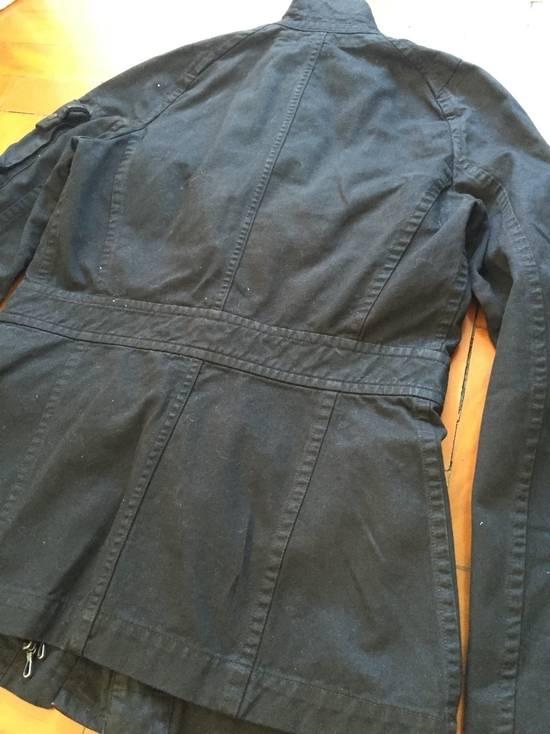 Julius AW08 Gas mask cargo pocket denim jacket Size US S / EU 44-46 / 1 - 16
