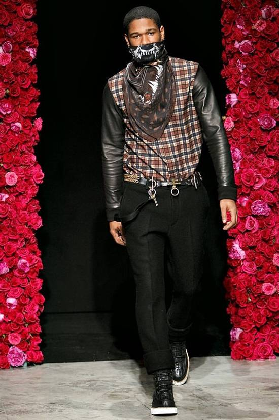 Givenchy AW11 leather plaid shirt Size US S / EU 44-46 / 1 - 8