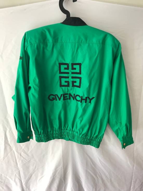 Givenchy Vintage light jacket Givenchy Play GGGG Big logo emroidery made by 1998 Authentic Not Versace , Gucci , Louis Vuitton , Off white , Supreme , Maison Margiela Size US M / EU 48-50 / 2
