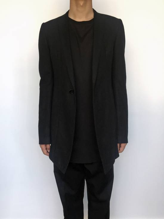 Julius Angora Double Layer Skirted Blazer Size 46R - 6