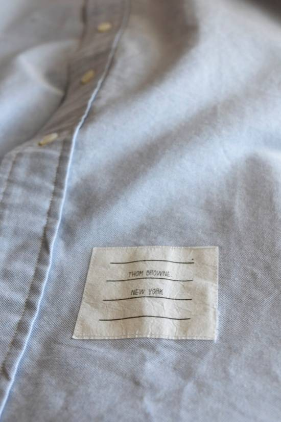 Thom Browne Classic Blue Oxford Shirt Size US L / EU 52-54 / 3 - 1