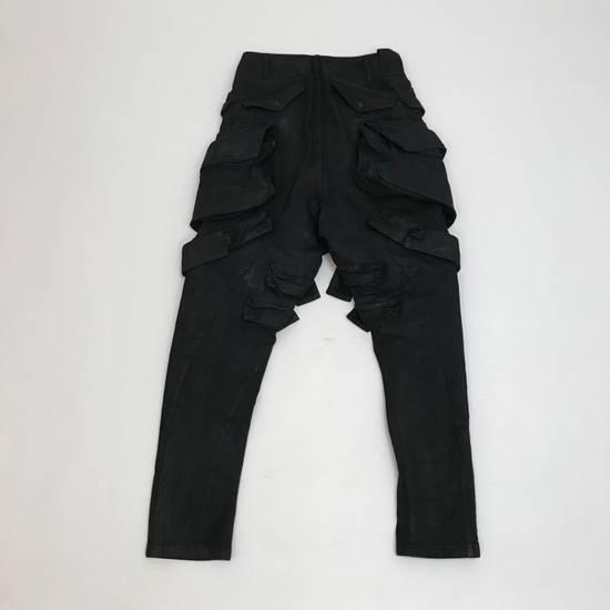 Julius FW15 Sphere/Gas Mask Waxed Denim Cargo Pants Size US 30 / EU 46 - 3