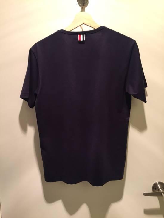 Thom Browne Navy SS Pocket Tee Jersey Cotton Size US S / EU 44-46 / 1 - 1