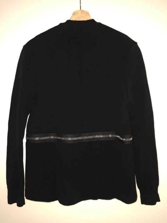 Givenchy Zip/ Crop Heavy Knit Jumper Size US S / EU 44-46 / 1 - 1