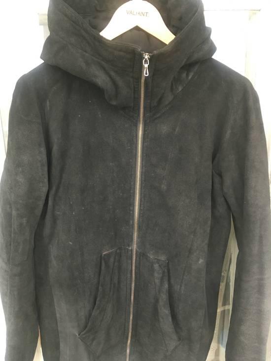 Julius Julius leather hood jacket Size US M / EU 48-50 / 2 - 2