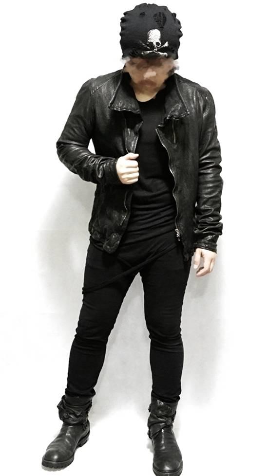 Julius BNWT Size 4 Moldable Collar Leather High Neck Jacket Size US XL / EU 56 / 4 - 2