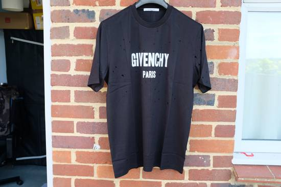 Givenchy Distressed Logo T-shirt Size US L / EU 52-54 / 3