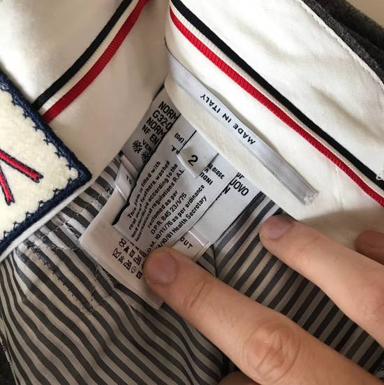 Thom Browne THOM BROWNE X MONCLER GAMME BLEU DOWN SUITS Size 38R - 13