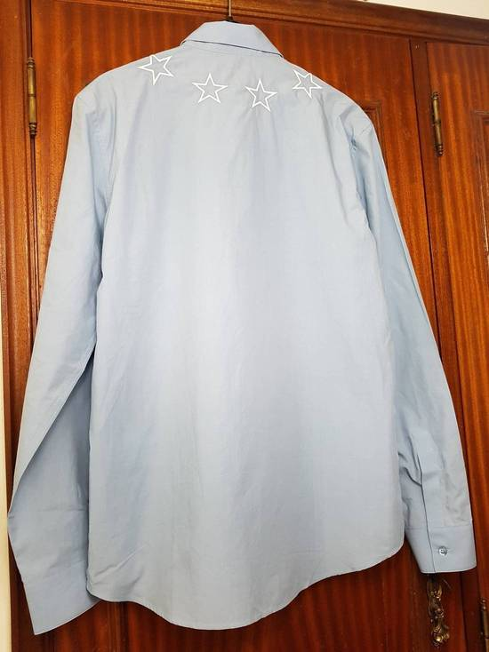 Givenchy Givenchy star embroidered blue shirt sz 38 Size US S / EU 44-46 / 1 - 4