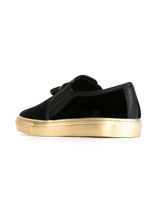 Balmain Men's Black Tasseled Velvet Slip-on Sneakers (BN) Size US 11 / EU 44 - 2