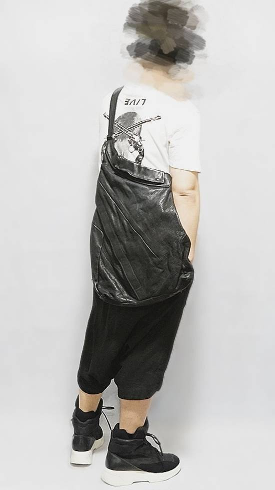Julius 2013AW Buffalo Leather 2 Way Shoulder Bag Size ONE SIZE