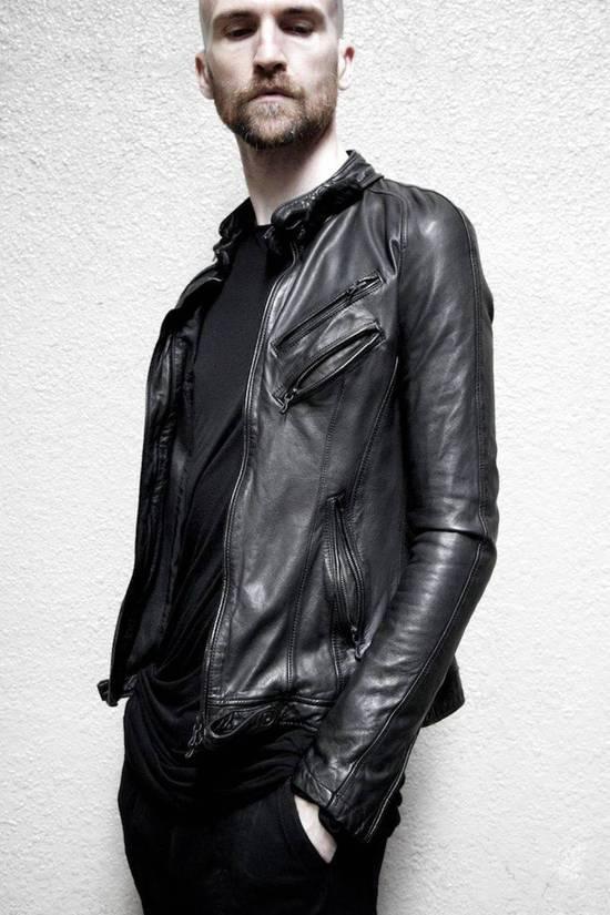 Julius Super rare JULIUS MID-WINTER 2011-2012 HALO MOTO leather jacket Size US L / EU 52-54 / 3 - 1