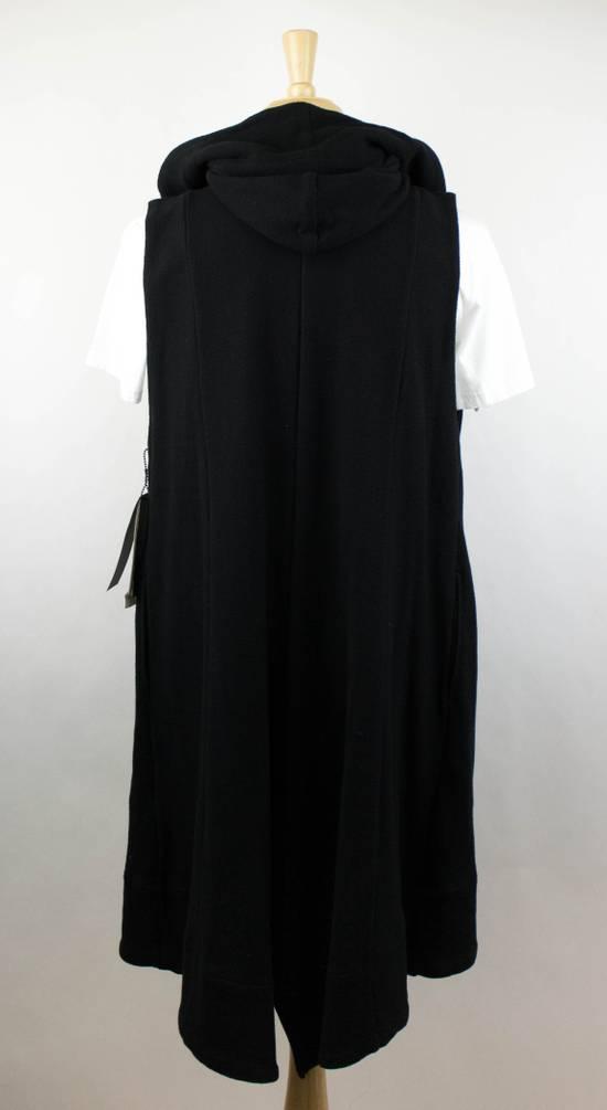 Julius Men's Black Cotton 'Sleeveless Long Coat' Vest Size 0/2XS Size US XS / EU 42 / 0 - 3