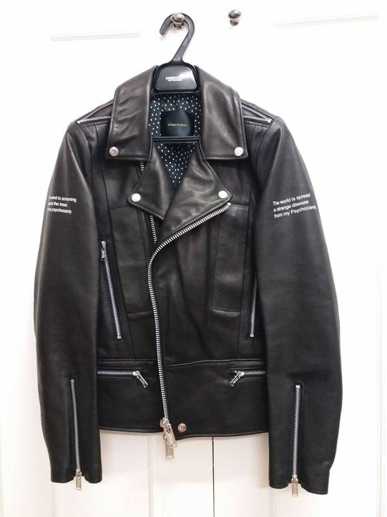 Undercover AW14 Psychocandy Horse Leather Rider - size 1 Size US S / EU 44-46 / 1 - 2