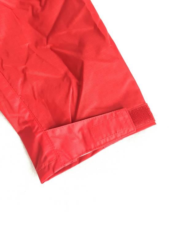 Thom Browne Red Hooded Rain Parka, NWT Size US L / EU 52-54 / 3 - 7