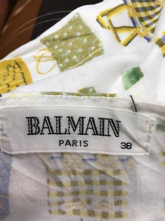 Balmain Balmain Full Print T Shirt Made Japan Size US M / EU 48-50 / 2 - 2