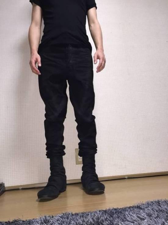 Julius 12oz Denim Waxed Seam Twisted Jeans Size US 30 / EU 46