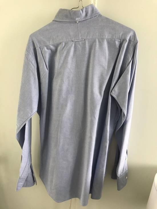 Thom Browne Blue Oxford Shirt Size US L / EU 52-54 / 3 - 2
