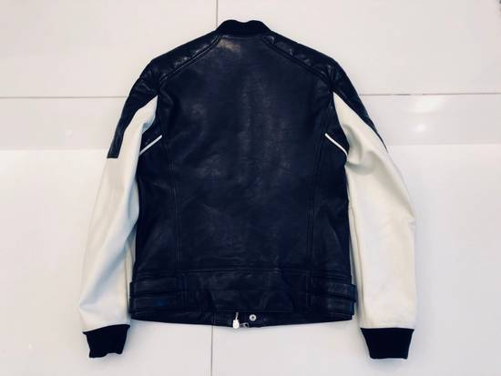 Balmain Full Leather Bomber Jacket Size US M / EU 48-50 / 2 - 2