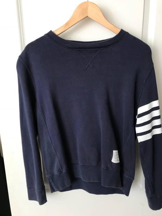 Thom Browne Four Stripe Sweatshirt Size US S / EU 44-46 / 1