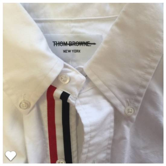 Thom Browne Classic Slim-Fit Button-Down Collar Cotton Oxford Shirt Grosgrain Placket Size US M / EU 48-50 / 2 - 2