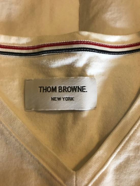 Thom Browne Thom Browne T-shirt White Cotton SIZE 0 Size US S / EU 44-46 / 1 - 6