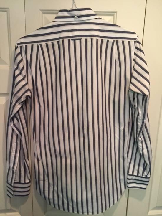 Thom Browne Classic Shirt In Thick Stripe Poplin Size US M / EU 48-50 / 2 - 4