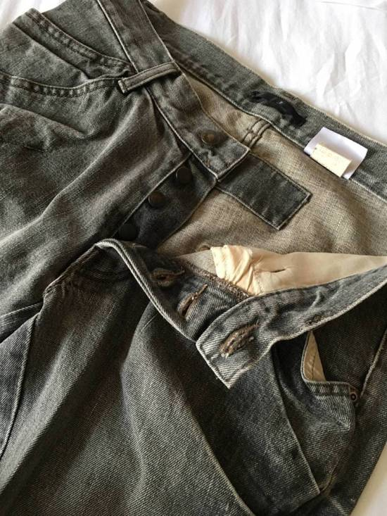 Julius Japan made rugged grey Slouchy distressed Japanese denim jeans Size US 29 - 6