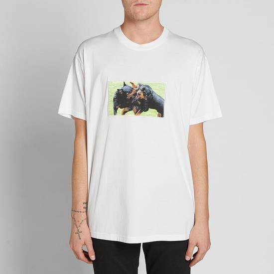 Givenchy White Fighting Rottweilers T-shirt Size US XS / EU 42 / 0 - 3