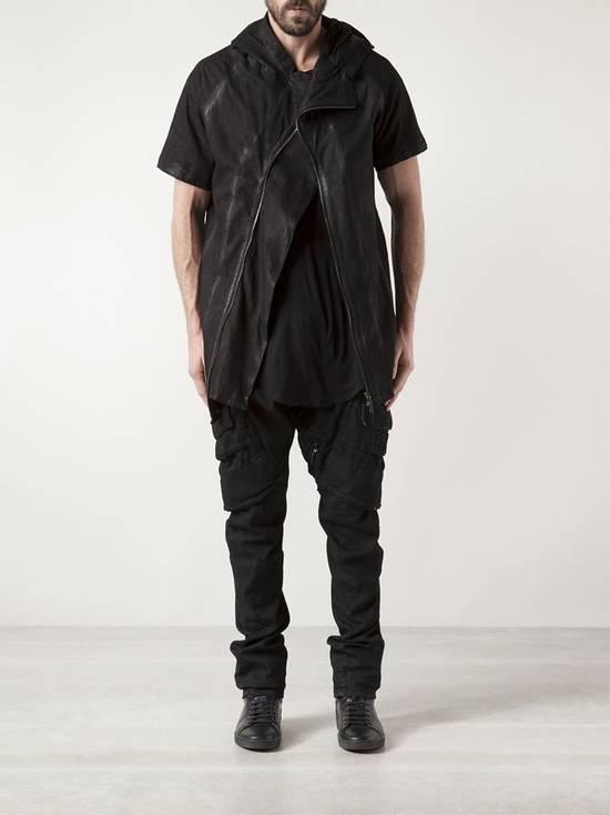 Julius Lamb Nubuck Leather Short Sleeve Jacket Size US L / EU 52-54 / 3 - 10