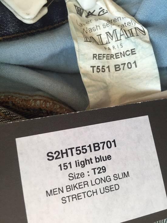 Balmain ss12 Biker jeans (fit 28) Size US 29 - 8