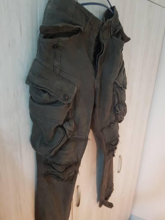 Julius Julius Distressed Gasmask Cargo Pants Size US 30 / EU 46 - 7
