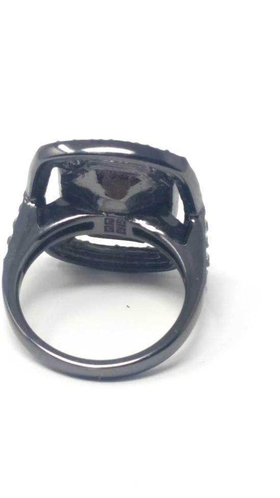 Givenchy Gunmetal ring size 8 Size ONE SIZE - 5