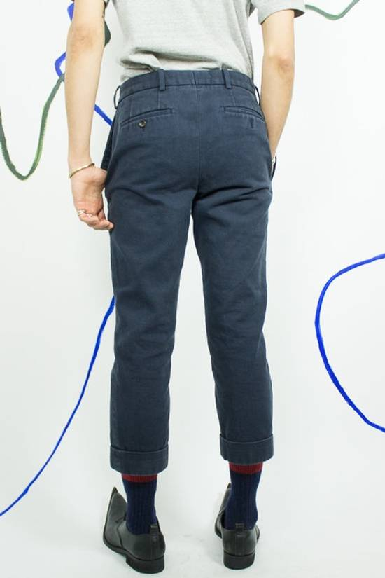 Thom Browne Navy Blue Cropped Pants Size US 29 - 2