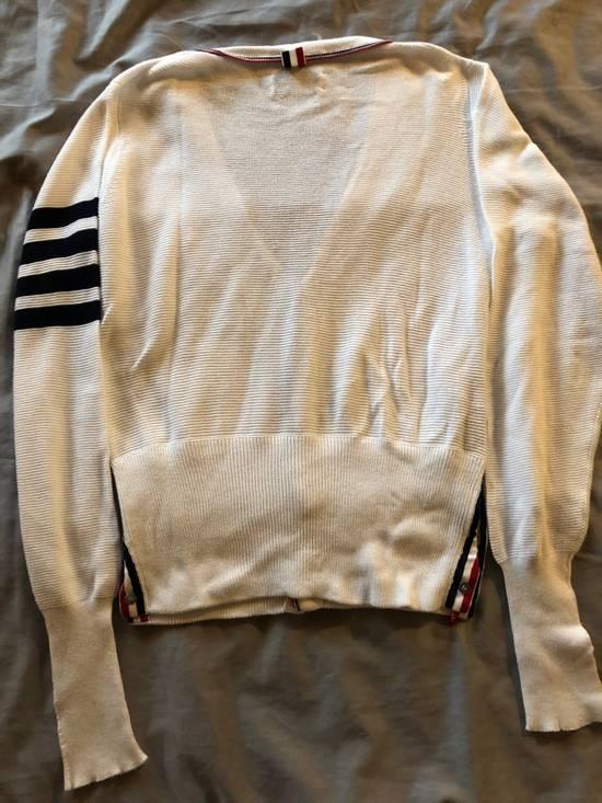 Thom Browne Thom Browne White Knit Cardigan Size US S / EU 44-46 / 1 - 3