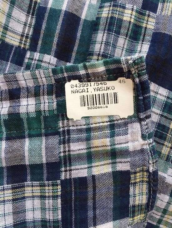 Thom Browne LAST DROP BEFORE DELETED ! Thom Browne Patchwork Madras Shirt Button Ups Size US M / EU 48-50 / 2 - 3